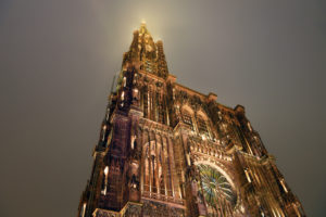 France, Bas Rhin, Strasbourg, old town listed as World Heritage by UNESCO, Notre Dame Cathedral