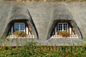 France, Calvados, Pays d'Auge, Beuvron-en-Auge, labelled Les Plus Beaux Villages de France (The Most Beautiful Villages of France)