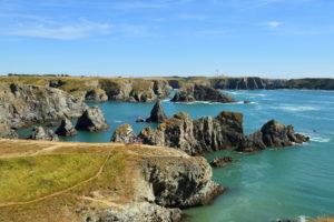 France, Morbihan, Belle Ile en Mer, West coast, wild coast, Port Goulphar
