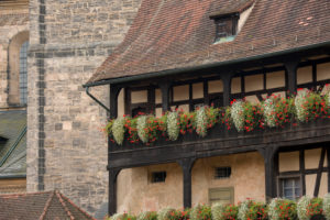 Germany, Franconia, Bamberg, residence building, UNESCO World Heritage 'Old Town of Bamberg'