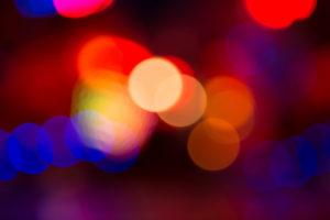 Lichter in der Nacht