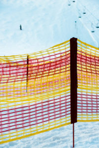 Lech am Arlberg, winter, ski area, safety net, winter, ski area
