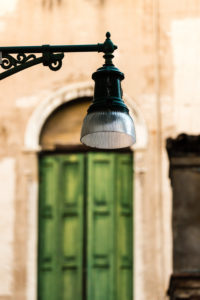 Strassenlampe, Venedig, Italien,