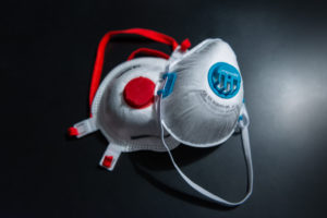 Corona, FFP3 protective masks, medical masks, respiratory masks fine dust particles, Covid 19, aerosols