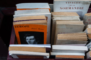 Paris, old books, second-hand bookshop