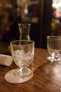 Paris, Restaurant, Bar, Tisch, Glas