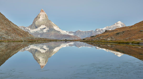 Riffelsee, Gornergrat, Matterhorn, Zermatt, Wallis, Schweiz