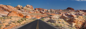 Mouse's Tank Road, Valley of Fire State Park, Nevada, USA