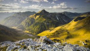 Namloser Wetterspitze, Steinjöchl, Lechtal Alps, Tyrol, Austria