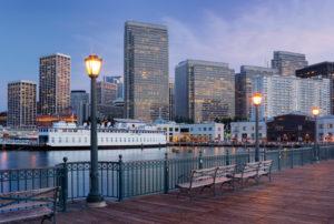 Pier 7, Financial District, San Francisco, California, USA
