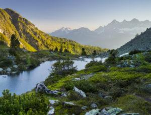 Spiegelsee, Reiteralm, Dachstein, Ennstal, Steiermark, Österreich