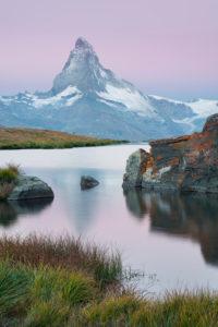 Stellisee, Matterhorn, Zermatt, Wallis, Schweiz