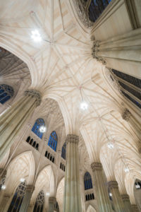 Interior view of the St. Patrick's Cathedral, 5Th avenue, Manhattan, New York city, New York, the USA