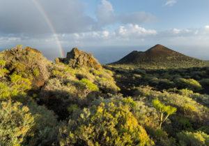 Montana de Lagi, island La Palma, Canary islands, Spain