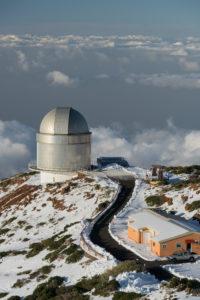 Observatorio del Roque de los Muchachos, Insel La Palma, Kanarische Inseln, Spanien