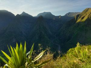View from Cap Noir Viewpoint, Cirque de Mafate, Reunion, France