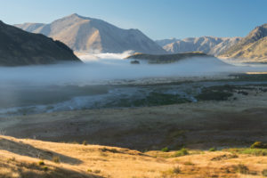 Purple Hill, Arthur's Pass Nationalpark, Canterbury, Südinsel, Neuseeland, Ozeanien