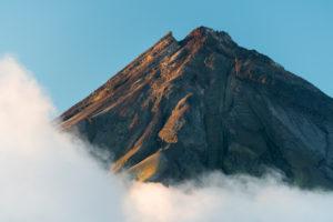Mount Taranaki, nahe Pouakai Hut, Egmont Nationalpark, Taranaki, Nordinsel, Neuseeland, Ozeanien