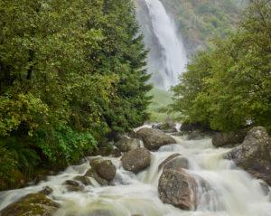 Wasserfall Partschins, Südtirol, Italien