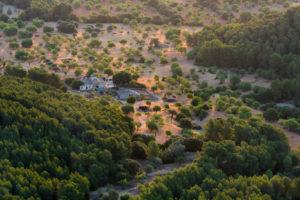 Blick vom Kloster Sant Salvador, Felanitx, Mallorca, Balearen, Spanien