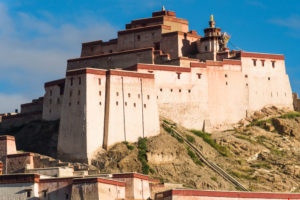 Gyantse, the fortification Dzong