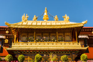 Lhasa, the Jokhang Temple