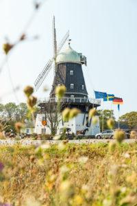 Größte Windmühle des Nordens in Sandvik