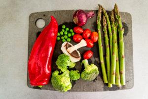 frisches rohes Gemüse