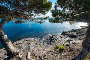 Coastline in Cap de Creus in the north of Costa Brava Girona Catalonia, Spain