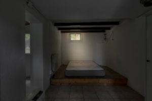 Barcelona, Catalonia, Spain, April 12:Empty interior without furniture and without people of a modern apartment in the suburbs of Barcelonaa
