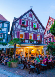 Germany, Baden-Württemberg, Besigheim, gastronomy