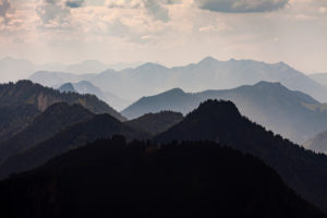 Germany, Bavaria, Ruhpolding, Alps