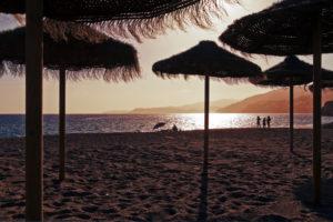 Strand, Stimmung, Gegenlicht, Spiegelung, Sonne, Licht, Meer