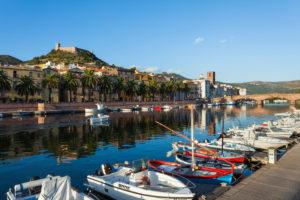 Europe; Italy; Sardinia; Oristano, Bosa