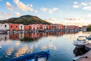 Europe, Italy, Sardinia, Oristano, Bosa