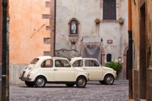 Fiat 500, Nuova, Cinquecento, car, vintage car, Italy,
