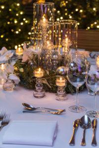 Dekoration, Tischdekoration, winterlich, weihnachtlich, Kerze