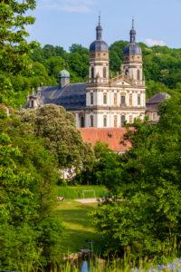 Europe, Germany, Baden-Wuerttemberg, Hohenlohe, Schöntal, Schöntal Monastery