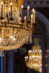Kronleuchter, Beleuchtung, Lampe, Barock,