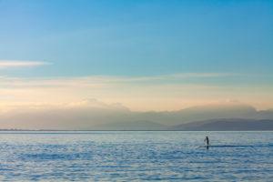 stand up paddling, Meer, Landschaft, Wassersport, Küste, Mallorca, paddeln,