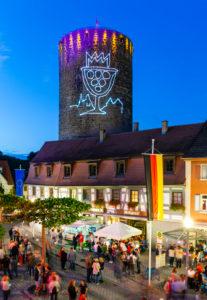 Europa, Deutschland, Baden-Württemberg, Besigheim, Altstadt, Winzerfest