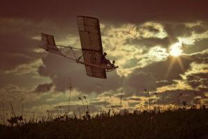 Flugzeug, historisch, fliegen, Himmel, Oltimer, Segelflugzeug, Schulgleiter, SG 38