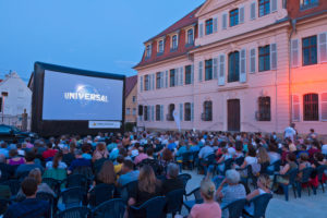 Open air, cinema, event, open air, audience, film, leisure time, open-air cinema