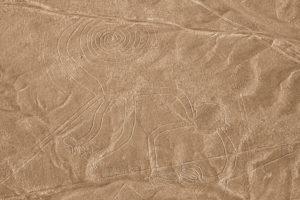 Affe, Nazca-Linien, Peru