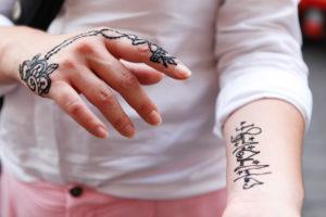 Cairo, Giza, Egypt, al-Muizz Street, Al Moez Ldin Allah Al Fatmi, wife, hands, henna