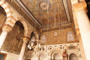 Cairo, Giza, building, Egypt, al-Muizz Street, Al-Muizz Al-Deen Allah Street, Old Cairo, Al Moez Ldin Allah Al Fatmi, Muizz Street, interior, mosque