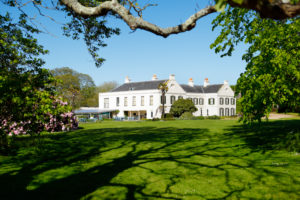 Jersey, botanical garden. Samares Manor