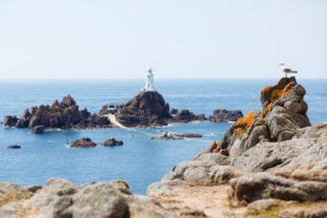 Jersey, La Corbiére lighthouse