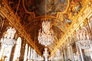 France, Palace of Versailles, inside, State Hall