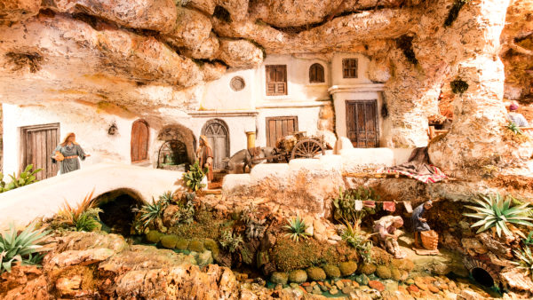 Belen, Museum, Nativity Scene, Arcos de la Frontera, Andalusia, Spain, Europe